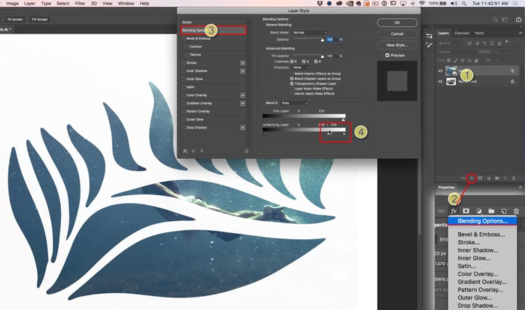 How to Fill a shape with a photo in Photoshop, 3 ways